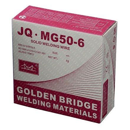 Проволока сварочная JQ-MG50-6 (Золотой мост) 1,2 мм (15 кг)