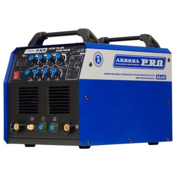 Аппарат аргонодуговой сварки Aurora PRO INTER TIG 200 AC/DC PULSE