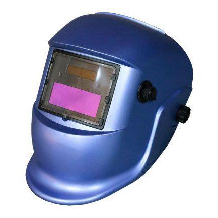 Маска сварщика MEGA-350D (синяя)