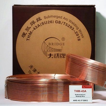 Проволока сварочная THM-43A (H08MnA) 3,2-5,0 mm